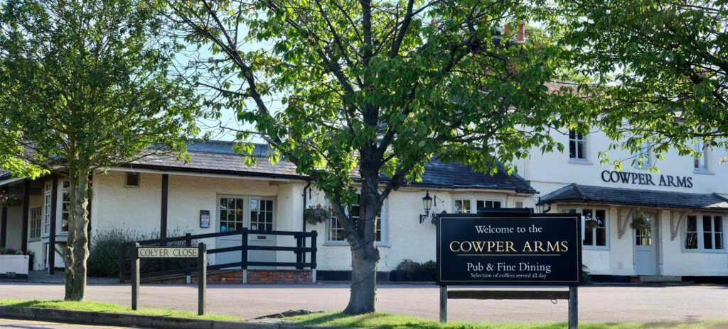 cowper arms digswell